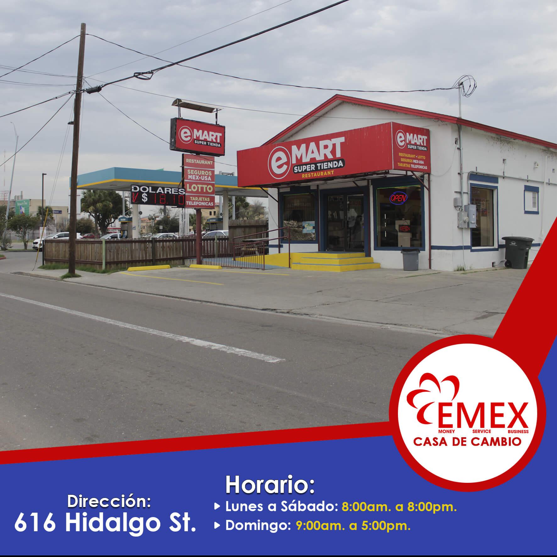 E-Mart (616 Hidalgo St)
