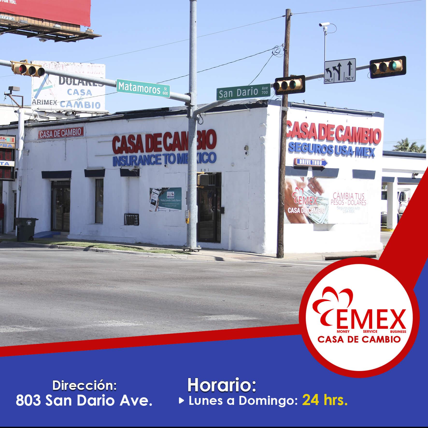 Emex (803 San Dario Ave)